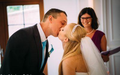 Der Hochzeitskuss – der romantischste Kuss
